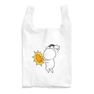 しらたまくん晴れですね Reusable Bag