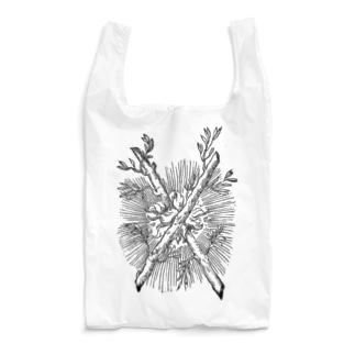 火と枝 Reusable Bag