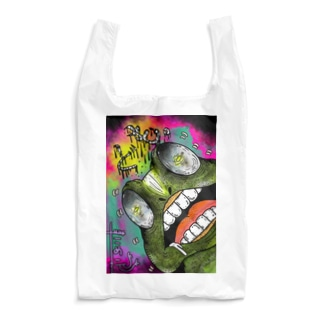 迫力・カエル。 Reusable Bag