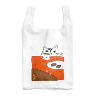 猫とブラウニー Reusable Bag