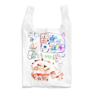 398(5さい)の絵 Reusable Bag