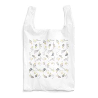たっぷりオカメインコちゃん【まめるりはことり】 Reusable Bag