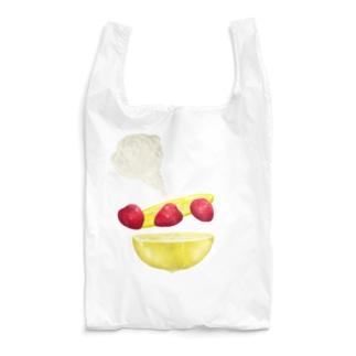 strawberry and lemon Q Reusable Bag