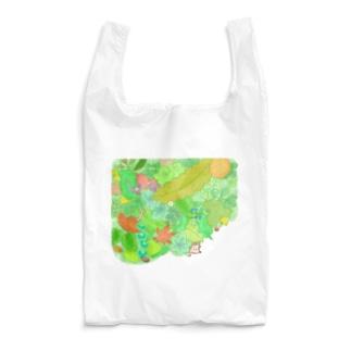 +kohの庭のハリネズミくん Reusable Bag