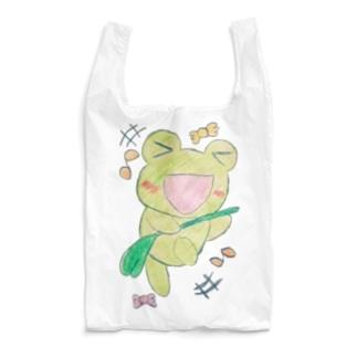 ダンシングあめかえる Reusable Bag