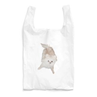 紐カミカミののたん(白ポメラニアン) Reusable Bag