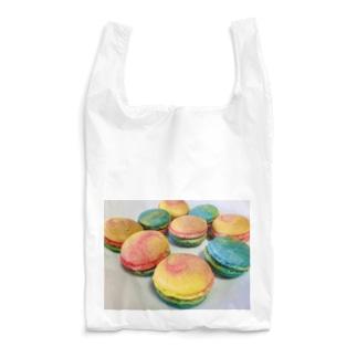 カラフルマカロン Reusable Bag