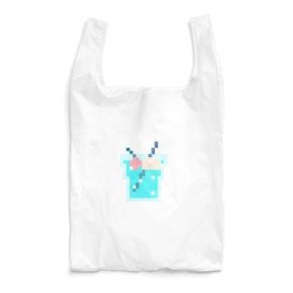 ドット絵クリームソーダ Reusable Bag