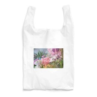 花屋のお花エコバッグ Reusable Bag