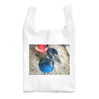京都大学クジャク同好会のこっちを見つめるサカタニ Reusable Bag