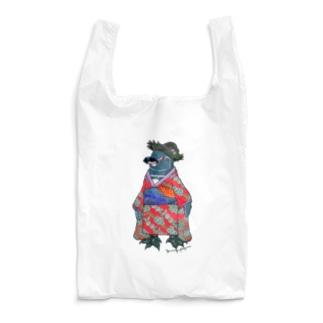 着物ぺんぎん―ガラパゴスと李― Reusable Bag