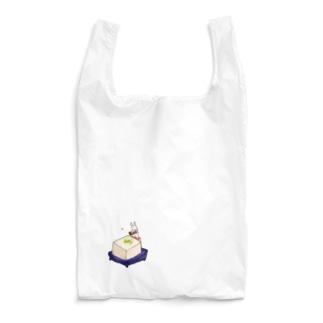 冷奴にしょう油をかけるうさぎ Reusable Bag