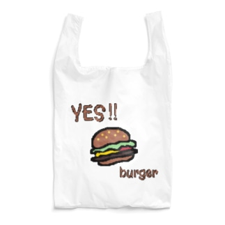 YES!! burger Reusable Bag