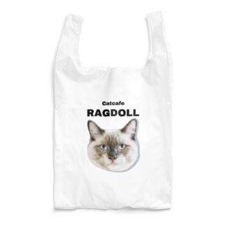 猫カフェラグドールとし シンプルロゴ Reusable Bag