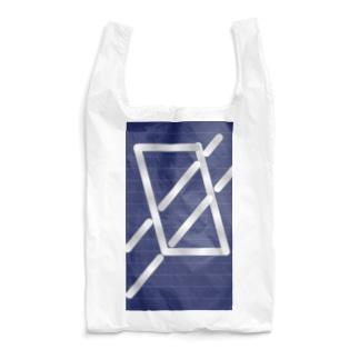 四角パターン3 Reusable Bag