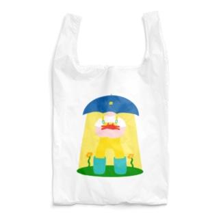 かさのうちゅうじんとカニのあかちゃん Reusable Bag