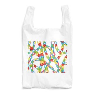 paper chain Reusable Bag
