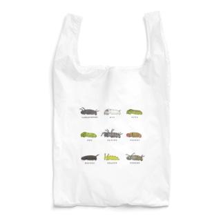 イモムシ図鑑 Reusable Bag