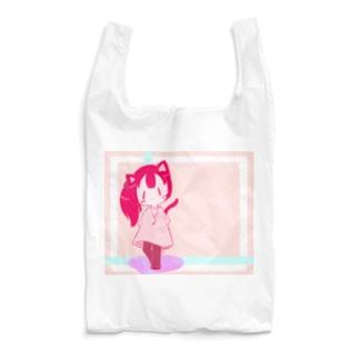 カラフルににゃん娘 Reusable Bag
