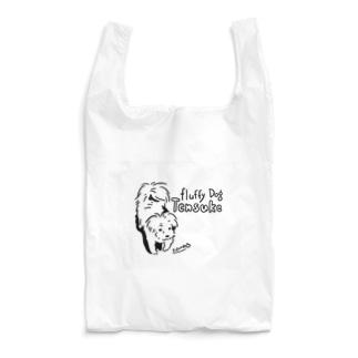 (保護犬支援)Fluffy Dog  Reusable Bag
