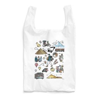 around the world  Reusable Bag