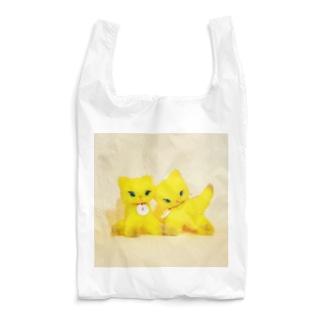 gyunyuyaのイエローちゃんとイエローちゃん Reusable Bag