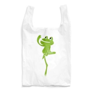 カエルポージング Reusable Bag