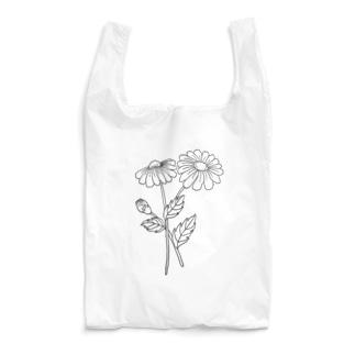 黒デイジー Reusable Bag