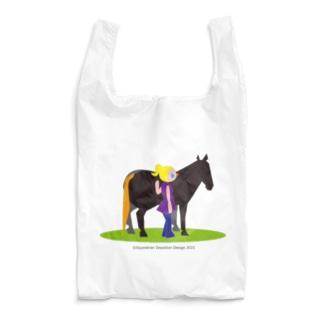 うまのりめいじん①(馬シリーズ) Reusable Bag