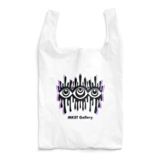 Melting eyes_hologram Reusable Bag