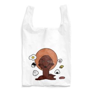 ミニチュアダックスred Reusable Bag