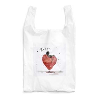 Peace cat Reusable Bag