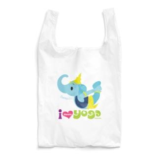 ヨガの先生ガネゾーくん Reusable Bag