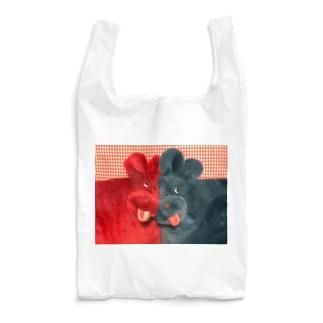 わんちゃんツーショット Reusable Bag
