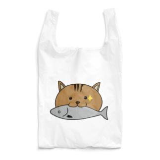 お魚くわえたどら猫 Reusable Bag