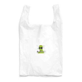 貧乏釣り部員五時レンジャー!公式ショップのなにィ! Reusable Bag
