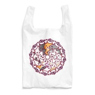 にゃーにゃーぐるぐる Reusable Bag