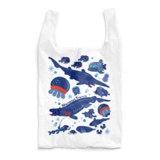 マリアナ海溝の深海生物たち Reusable Bag