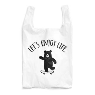 スケボークマさん_02 Reusable Bag