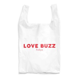 LOVEBUZZ logo RED Reusable Bag