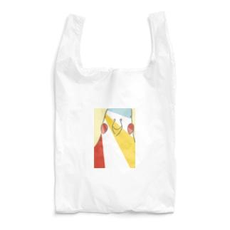 カラフルインコ Reusable Bag