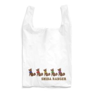 柴レンジャー🐶(ブラウン) Reusable Bag