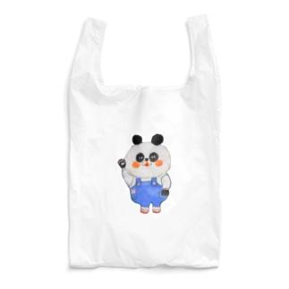 もふもふパンダさん Reusable Bag
