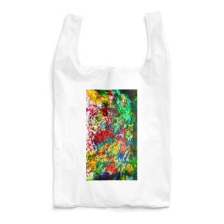 絵画の花 Reusable Bag