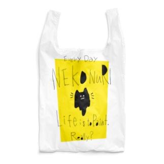 ネコヌリ エコバッグ type2 Reusable Bag