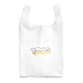幽体離脱いぬ Reusable Bag