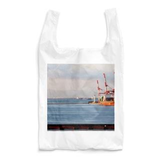 兵庫県:神戸付近の海の風景 Hyogo: view of the sea around Kobe Reusable Bag