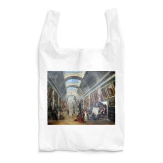 ユベール・ロベール《ルーヴル美術館の改造計画》1796年 Reusable Bag