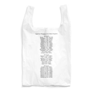 古代エジプト新王国王名表 コンサートTシャツ風A Reusable Bag