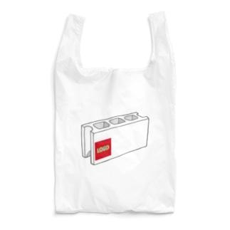ロゴ・ブロック Reusable Bag
